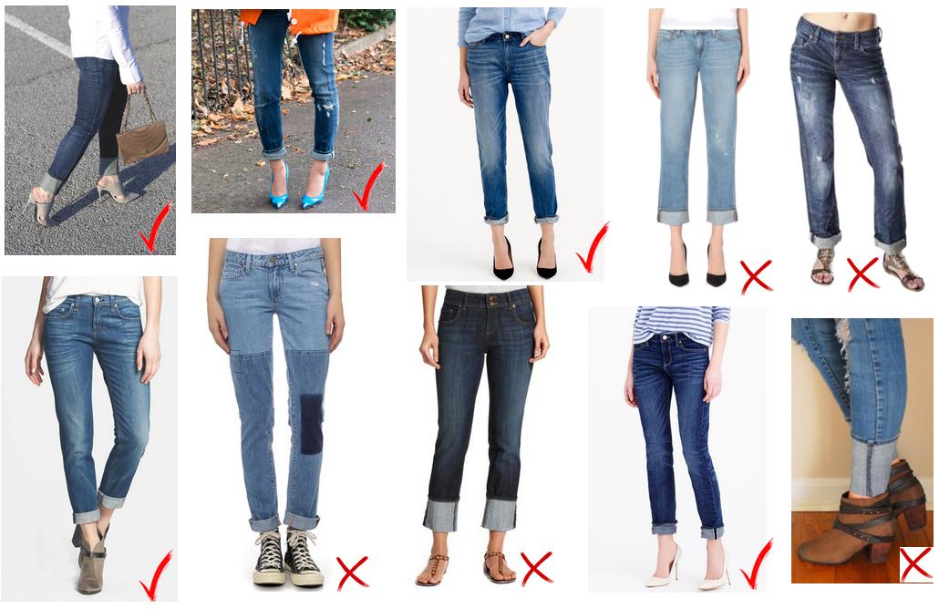 5376bb813 Crear un dobladillo en tus jeans puede refrescar un viejo par de ...