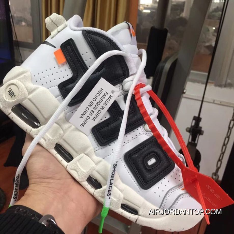 lowest price a8485 304bc Off-White X Nike Air More Uptempo Discount