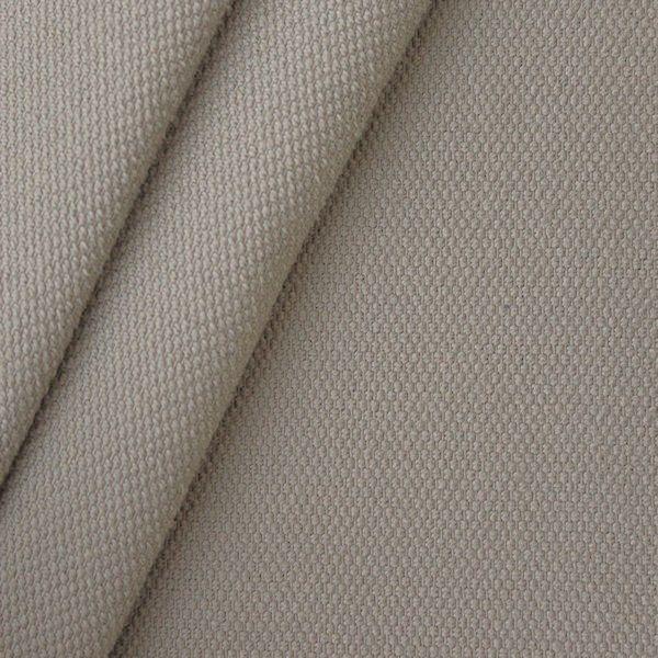 100% Baumwolle Panama Gewebe Schwere Qualität Farbe Taupe 7,40