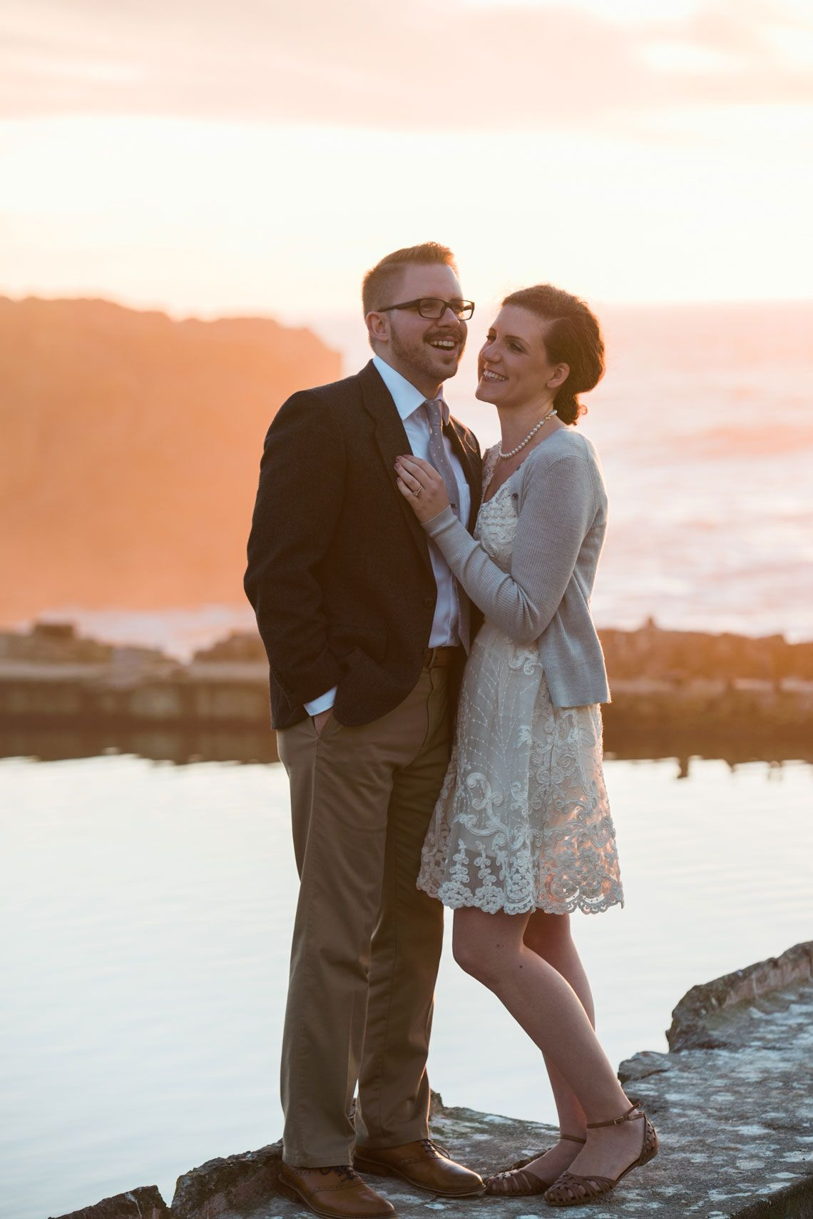 Engagement photo at Sutro Baths in San Francisco  #sutrobaths #sutrobathsengagement #engagementshoot #engagementshootideas #sanfrancisco #sanfranciscoengagement #sanfranciscoshoot