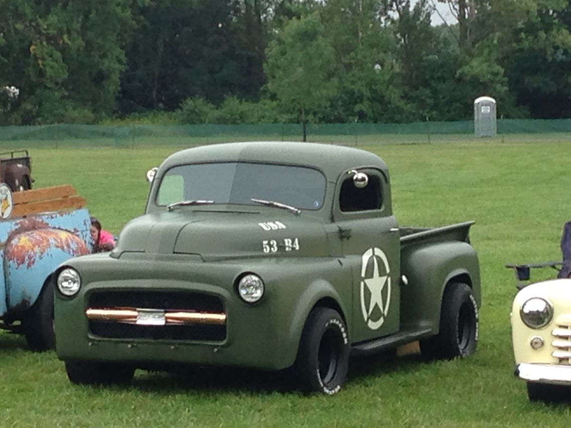 Blankenship's auto body , flathead 6,Custom ,Chop top,1953 ...  1953 Dodge Flatbed Truck