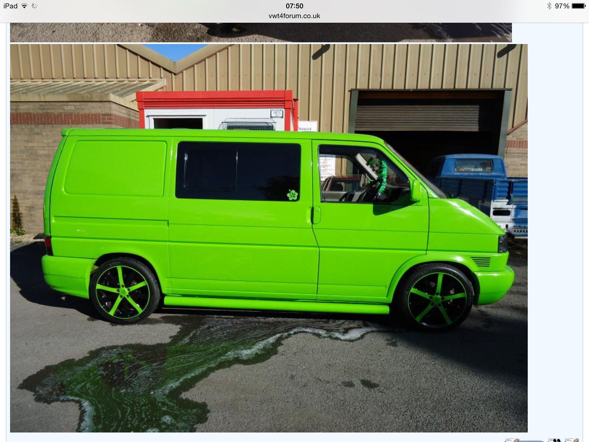 vw t4 green furgonetas pinterest furgoneta y combi. Black Bedroom Furniture Sets. Home Design Ideas