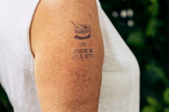 278089fe89a29 Love is Like Oatmeal - tattoo, brooklyn 99, tv, captain holt, jake peralta,  andy samberg, nerd, photography