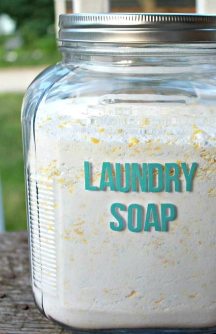 All Natural And Inexpensive This Diy Homemade Laundry Detergent