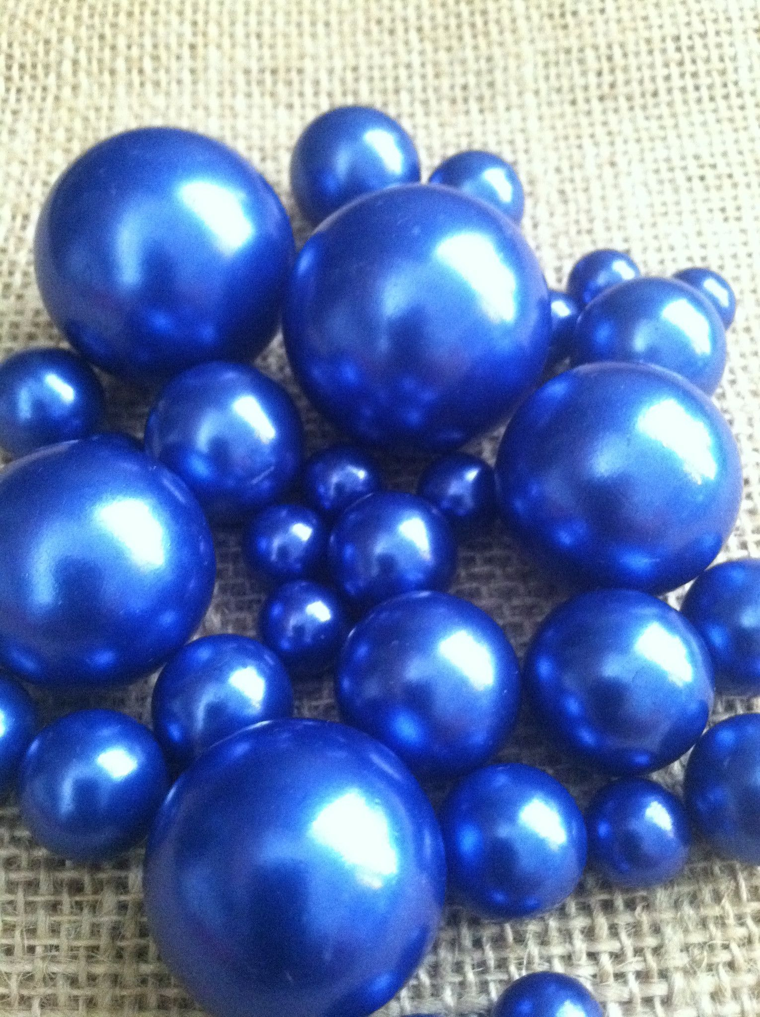 Royal blue pearls for floating pearl centerpieces jumbo pearl elegant royal blue pearls select your size from 3mm to 30mm this pearl beads reviewsmspy