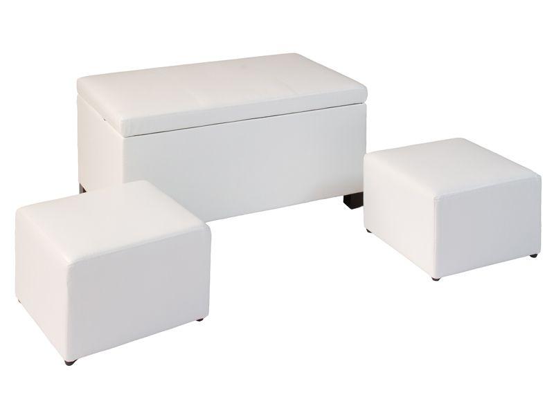 Juego de ba l y 2 puffs muebles decoraci n cuadros for Comedor terraza easy