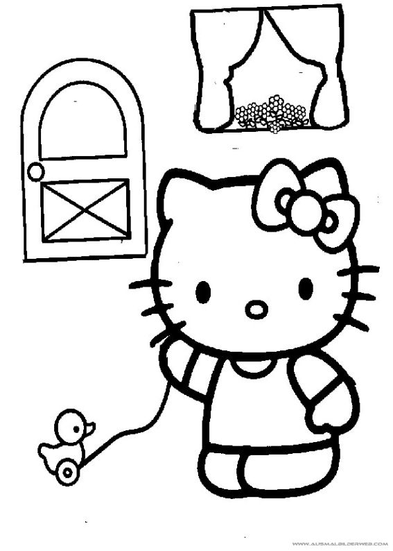 Pin von APK MOD SHARE auf Ausmalbilder Hello Kitty | Pinterest ...