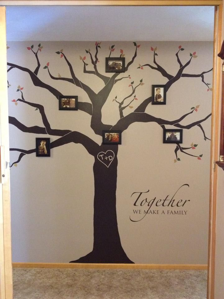 Vinyl Wall Art Quotes Family : Diy family tree quote decor vinyl wall decal