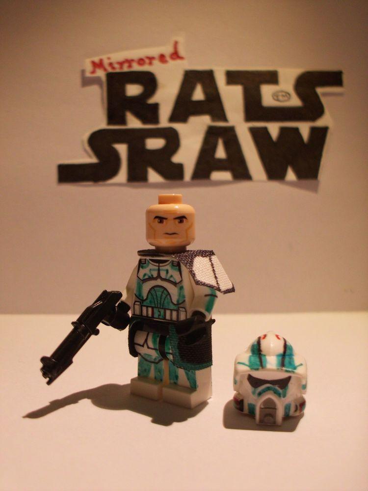 Lego Star Wars minifigures - Clone Custom ARF Commander Trauma ...
