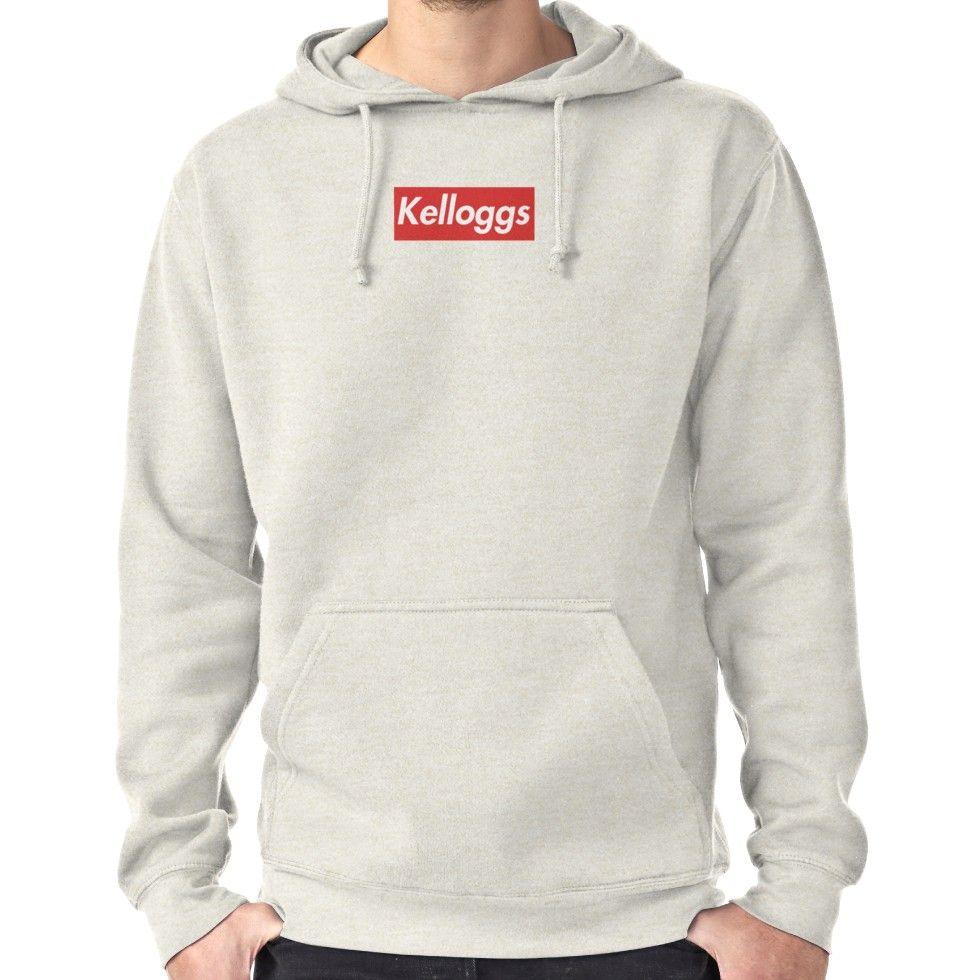 04cdac514 Kelloggs - Supreme Parody   Pullover Hoodie   Products   Hoodies, T ...