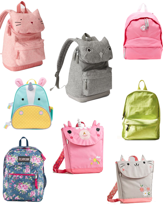 Got a preschool or kindergarten girl? These tiny backpacks are too ...