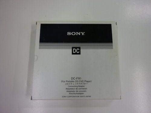 SONY DC-FX1 Connecting Adaptor for Portable CD and DVD Players by Sony. $69.95. SONY DC-FX1 Connecting Adaptor for Portable CD and DVD Players