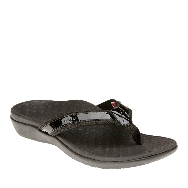 3b8e61828ef8 Amazon.com  Vionic By Orthaheel Women s Tide Ii Sandal Black Size 9  Shoes
