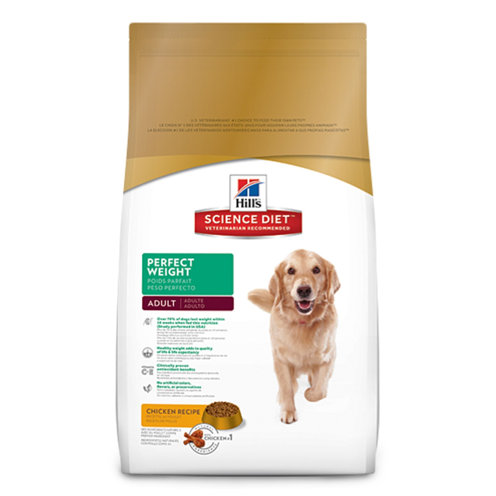 Hills Science Diet Perfect Weight Adult Dog Food Chicken