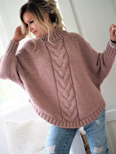 33 Ideas Knitting Patterns For Women Ponchos Sleeve For ...