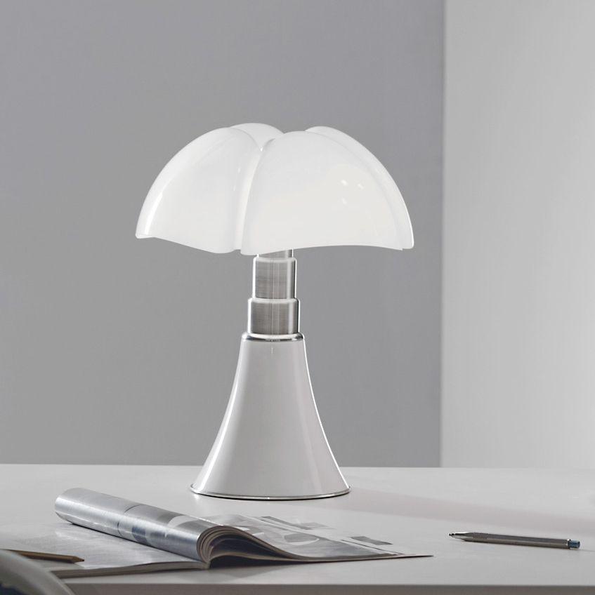Lampe A Poser Mini Pipistrello Tactile Led Blanc H35cm