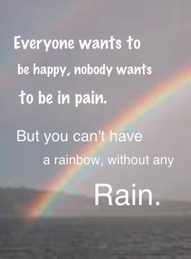 There Is Always A Rainbow After A Rain Quotes3 Quotes