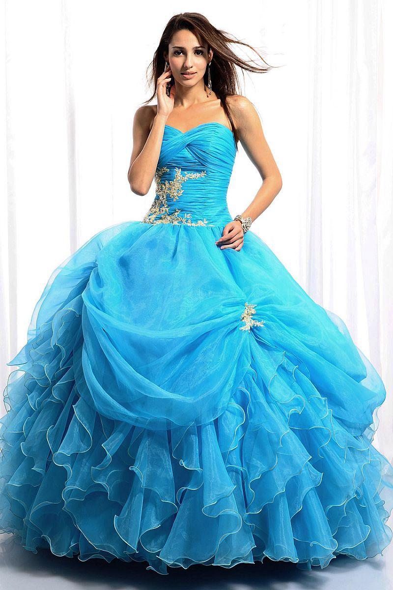 Bil blue dress