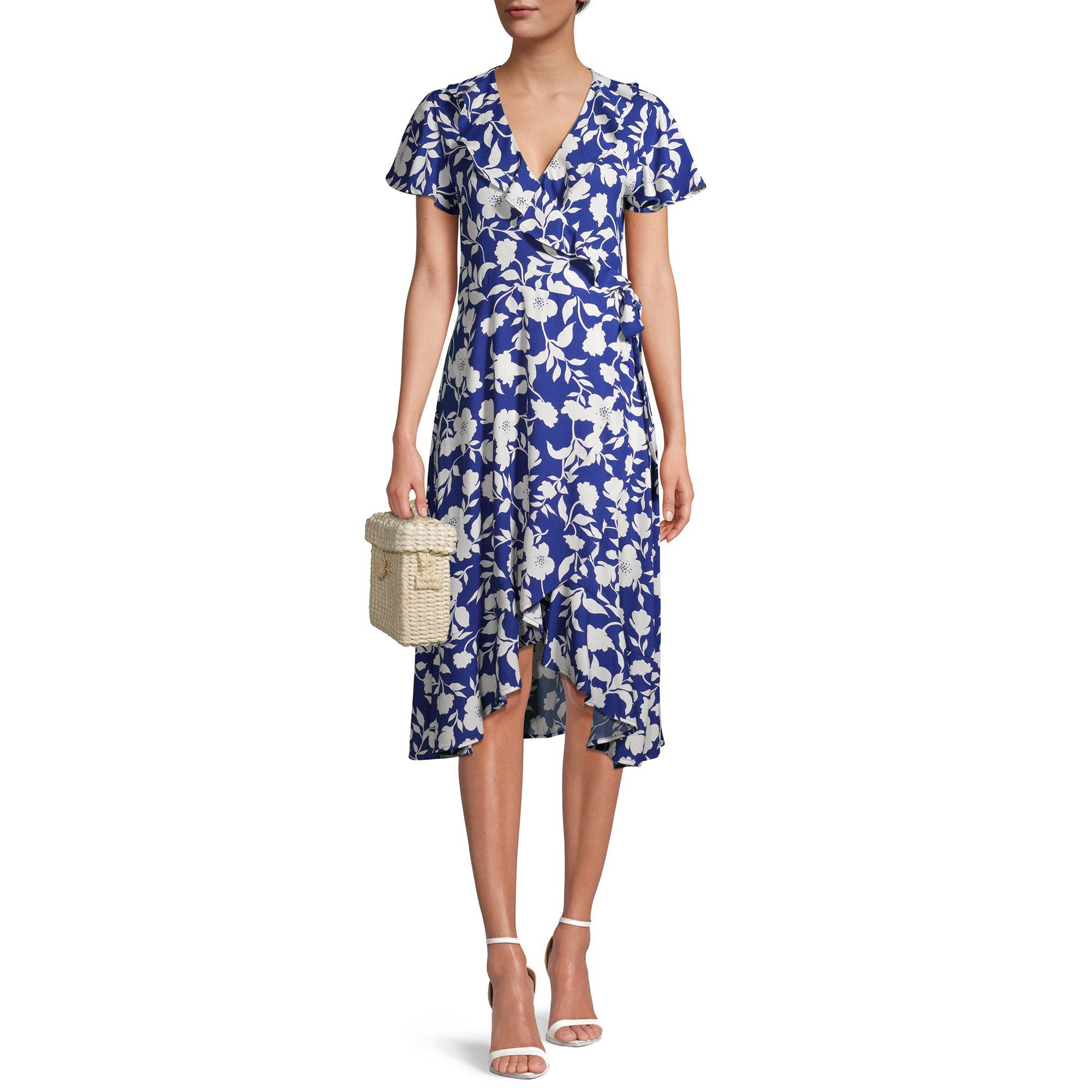 Time And Tru Time And Tru Women S Ruffle Midi Dress Walmart Com Walmart Com Ruffle Midi Dress Midi Ruffle Dress Summer Dresses For Women [ 2000 x 2000 Pixel ]