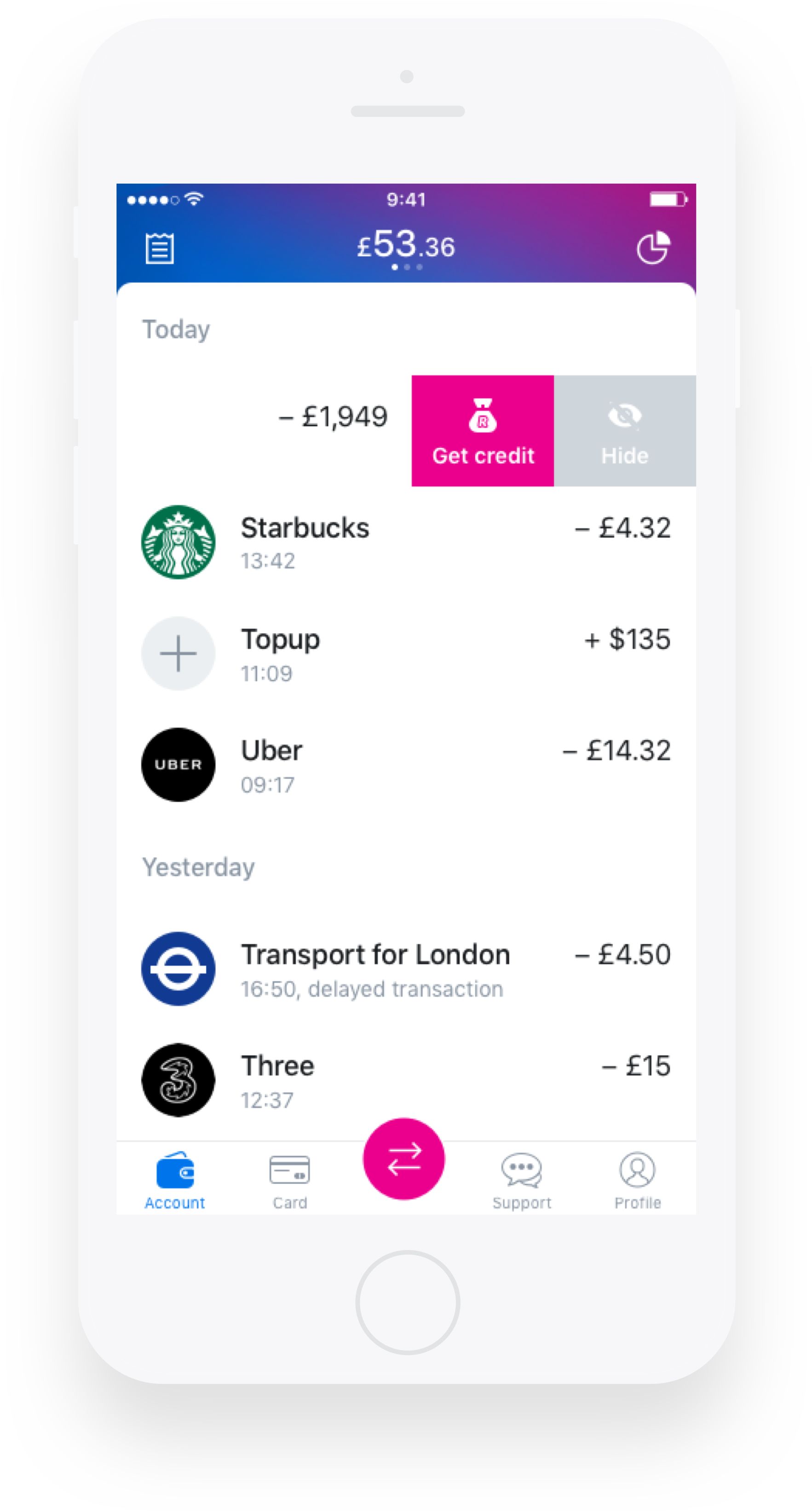 Revolut Users Can Now Apply For Credit In Just A Few Minutes Techcrunch Fintech Startups Money Apps Virtual Card