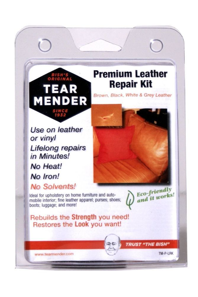 Leather Furniture Repair Kit Tear Mender Patches Refinish