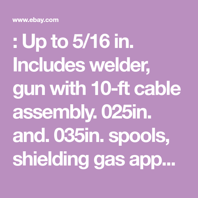 Details About Lincoln Easy Mig 140 Welder 120v 140 Amps K2697 1 Flux Core Welding Auto Body Work Welding Wire