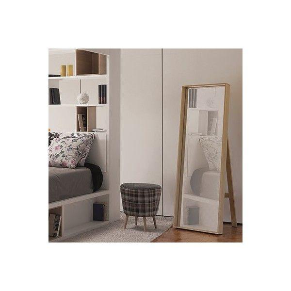 Espejo madera vox tiendas on muebles estilo n rdico - Espejo nordico ...