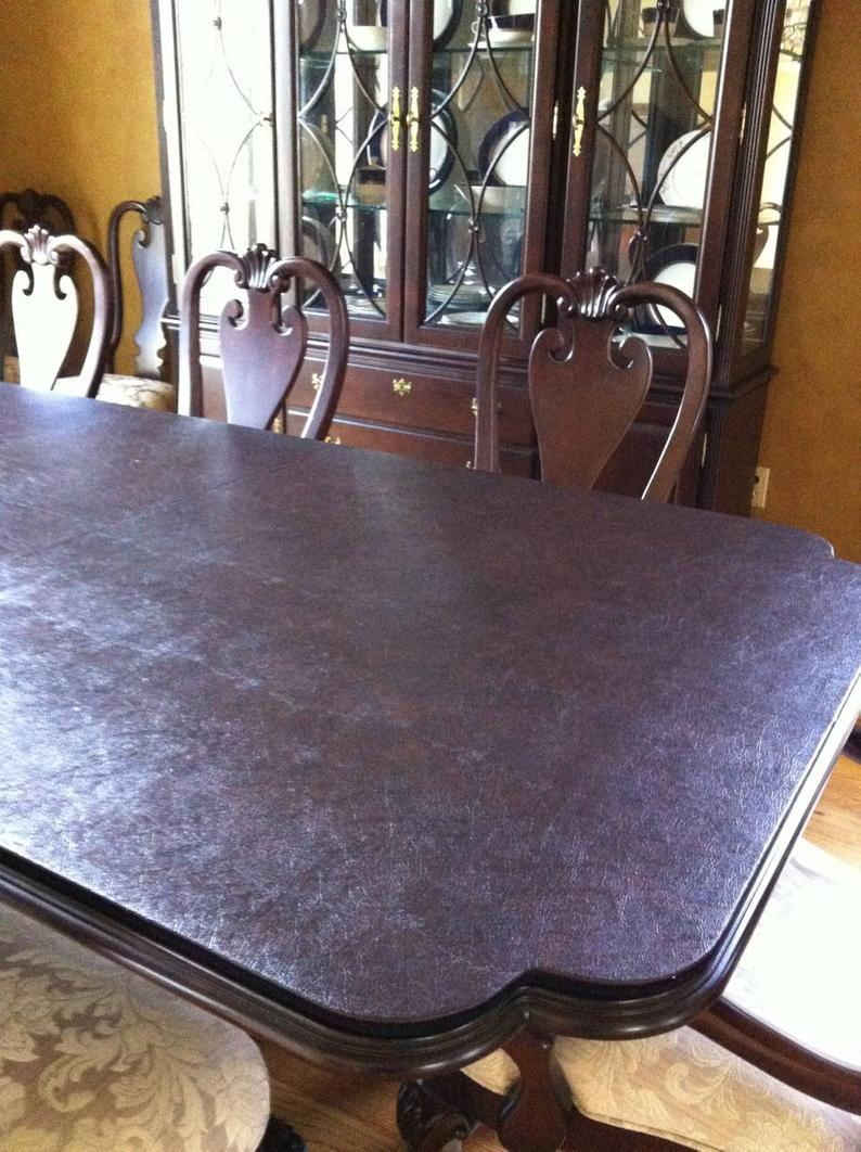 Custom Made Table Pads One Leaf Included Kitchen Dining Table