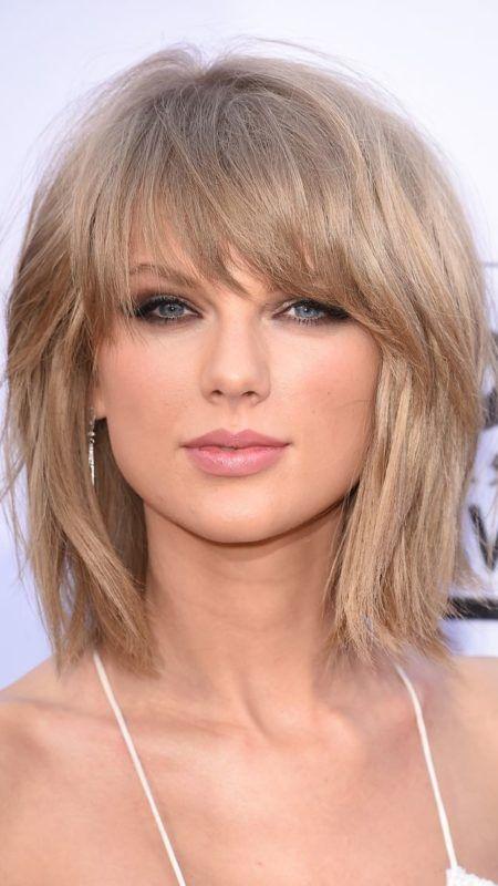 Taylor Swift Chaotisch Shag Haarschnitt Frisuren Haar Ideen