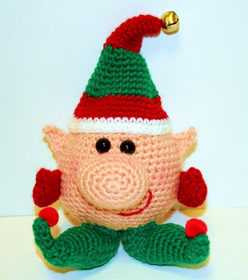 Winkie The Elf By Mary Smith - Purchased Crochet Pattern - (ravelry)