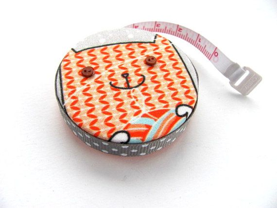 Measuring Tape with Knitted Cat Retractable Tape Measure