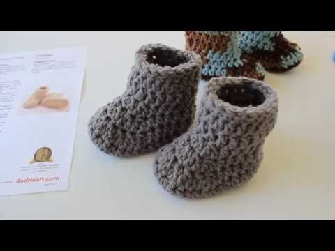 My Easy Crochet 6 In 1 Petite Baby Slippers Booties Inc My Ugg