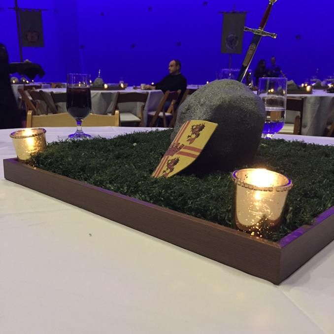 The centerpiece on our tables at tonight's #OnceUponATime screening party...