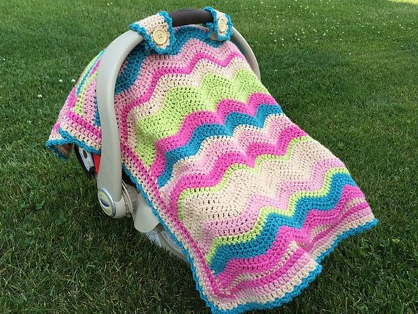 Emerson Car Seat Cover Or Blanket Knitting Pinterest Seat