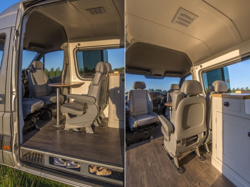 This Camper Van Conversion Accommodates A Family Of Four Camper