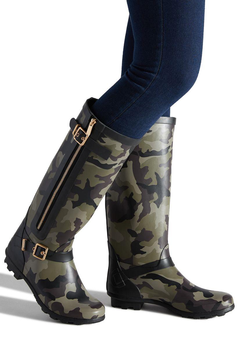 ARYA RAIN BOOT - ShoeDazzle | Boots