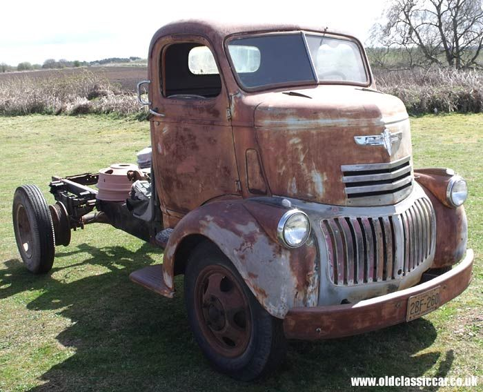 1946 Chevy Coe Transportation Deluxe Large Special