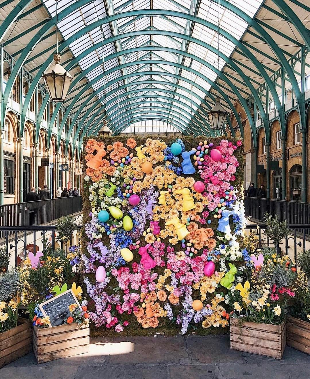 spring in london // covent garden- places to visit in london the