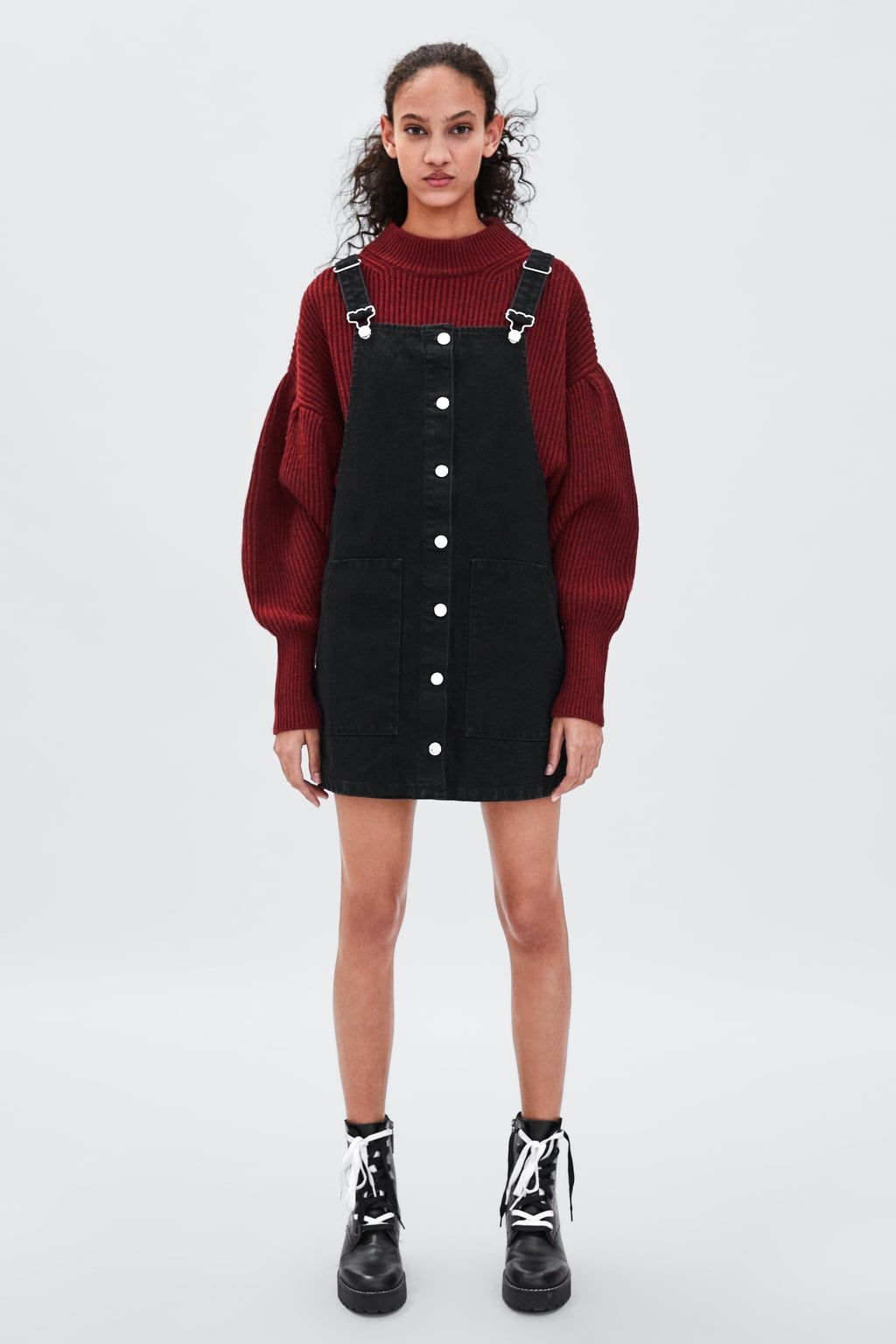 b3717f5982 Authentic denim pinafore dress in 2019 | Create. | Denim pinafore ...