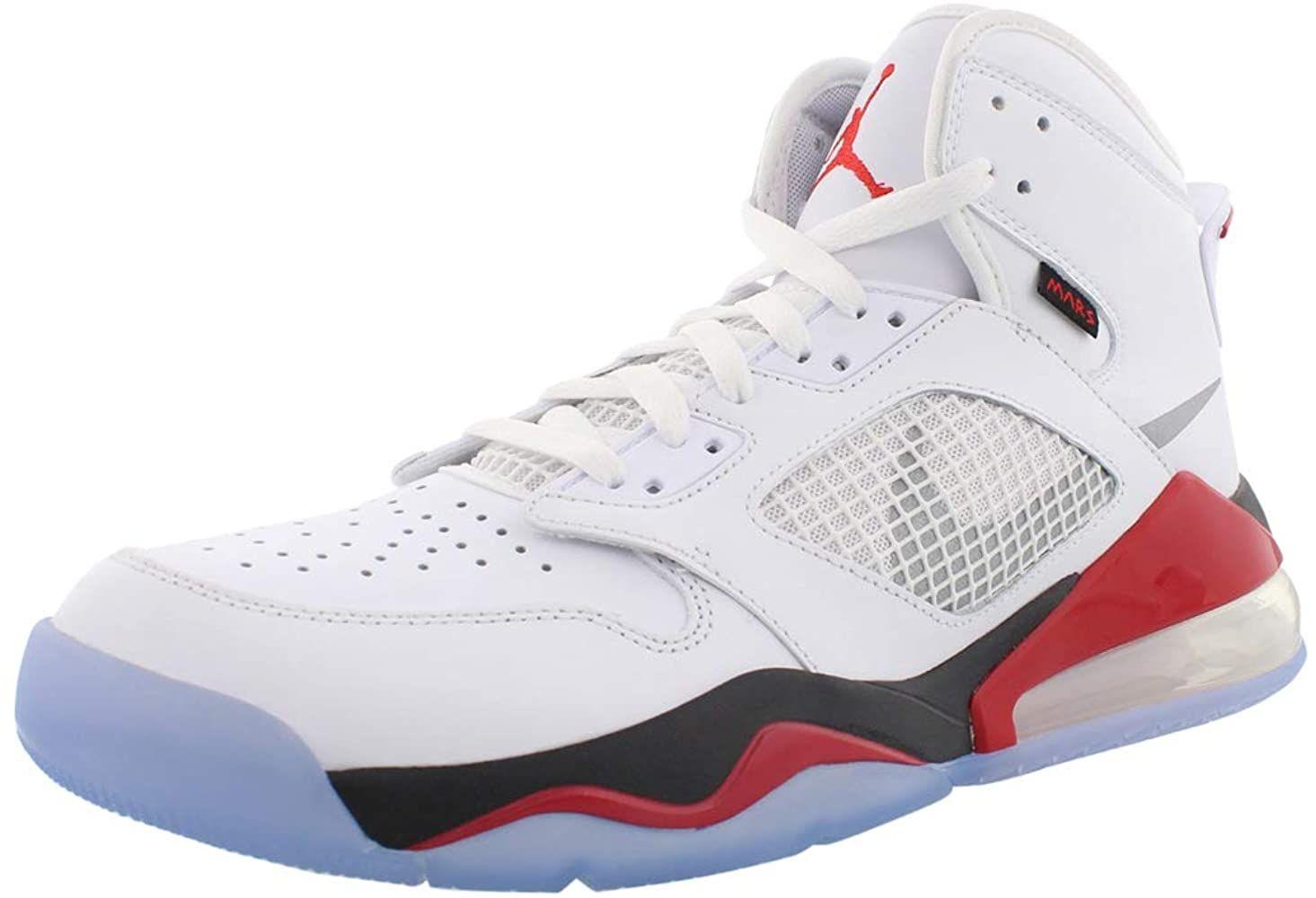 Amazon.com   Nike Mens Jordan Mars 270 White/Silver CD7070 ...
