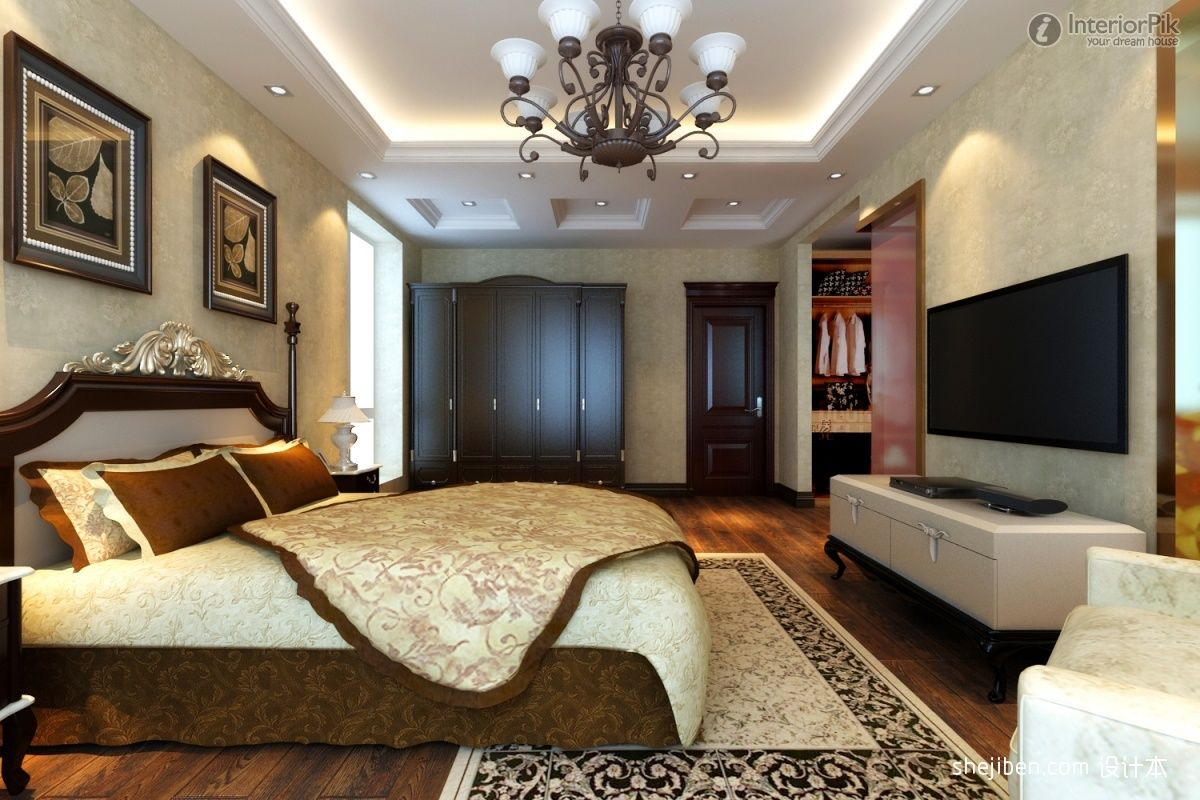 Master bedroom decoration - Luxury Master Bedrooms Luxury Master Bedroom Decoration New Classical Bedroom Classic