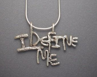I define me pendant jewelry pinterest i love jewelry and pendants i define me pendant mozeypictures Gallery