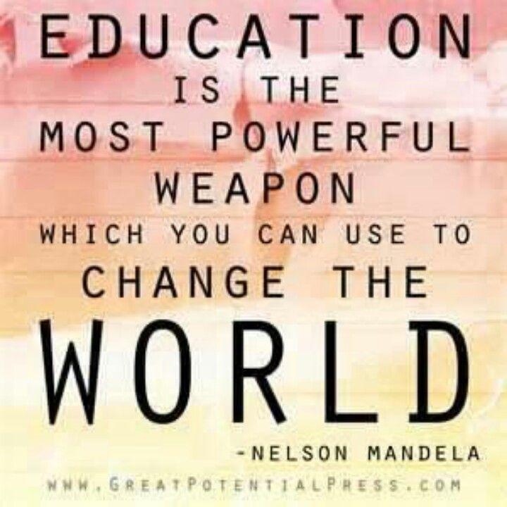 Citaten Over Leren En Onderwijs : Nelson mandela onderwijs mooie uitspraken over