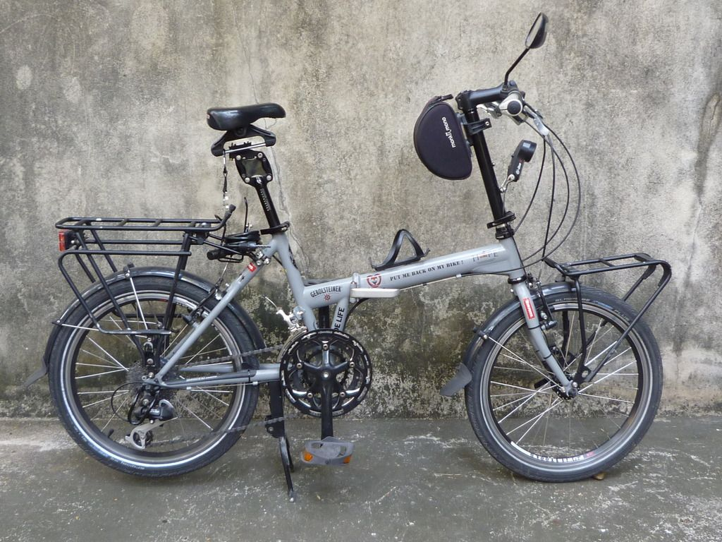 Bike Campers Khs Touring Folding Velo Pinterest Bicycling Folding