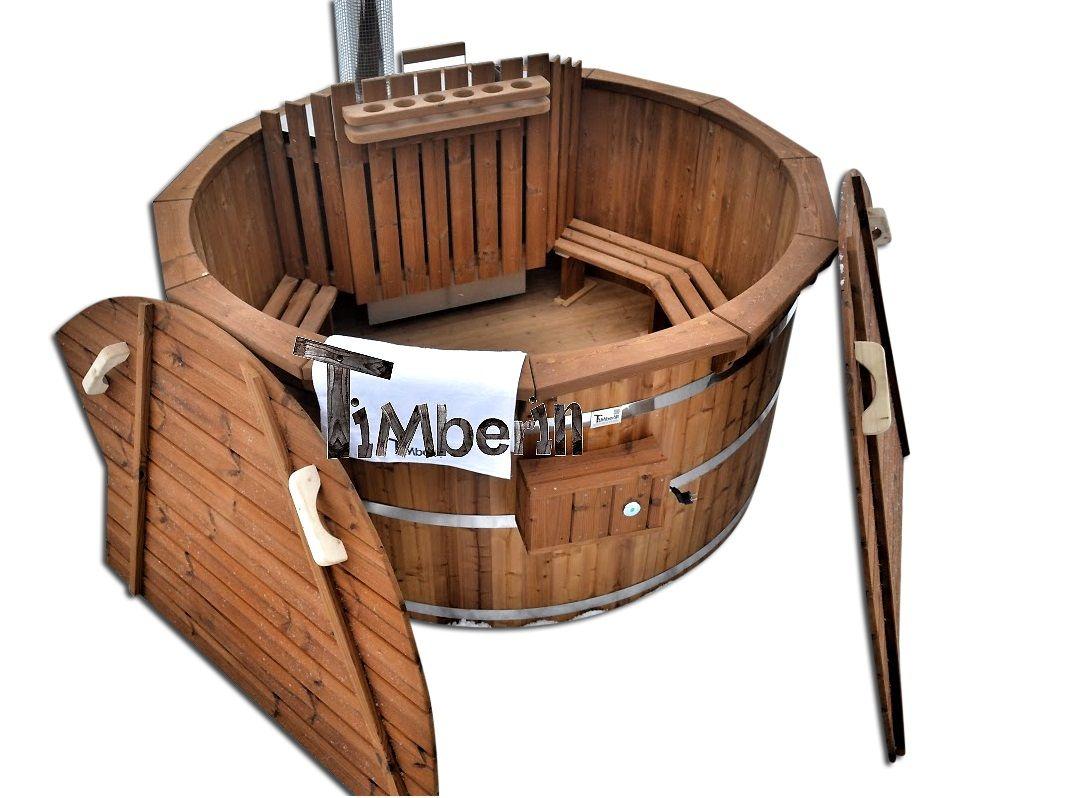 bain nordique en bois deluxe spa bois thermo bains nordiques pinterest bain nordique spa. Black Bedroom Furniture Sets. Home Design Ideas