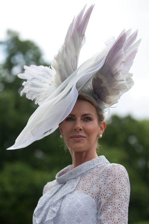 The 37 Craziest Hats From Royal Ascot 2016 More fab54dc90a6f