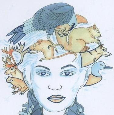 The Blue Lady by LittleLinsy on Etsy, $18.50
