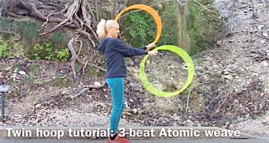 3 beat weave hoop tutorial youtube.