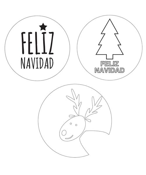 Plantillas De Navidad Para Imprimir Manualidades Planta De Navidad Manualidades Navidad