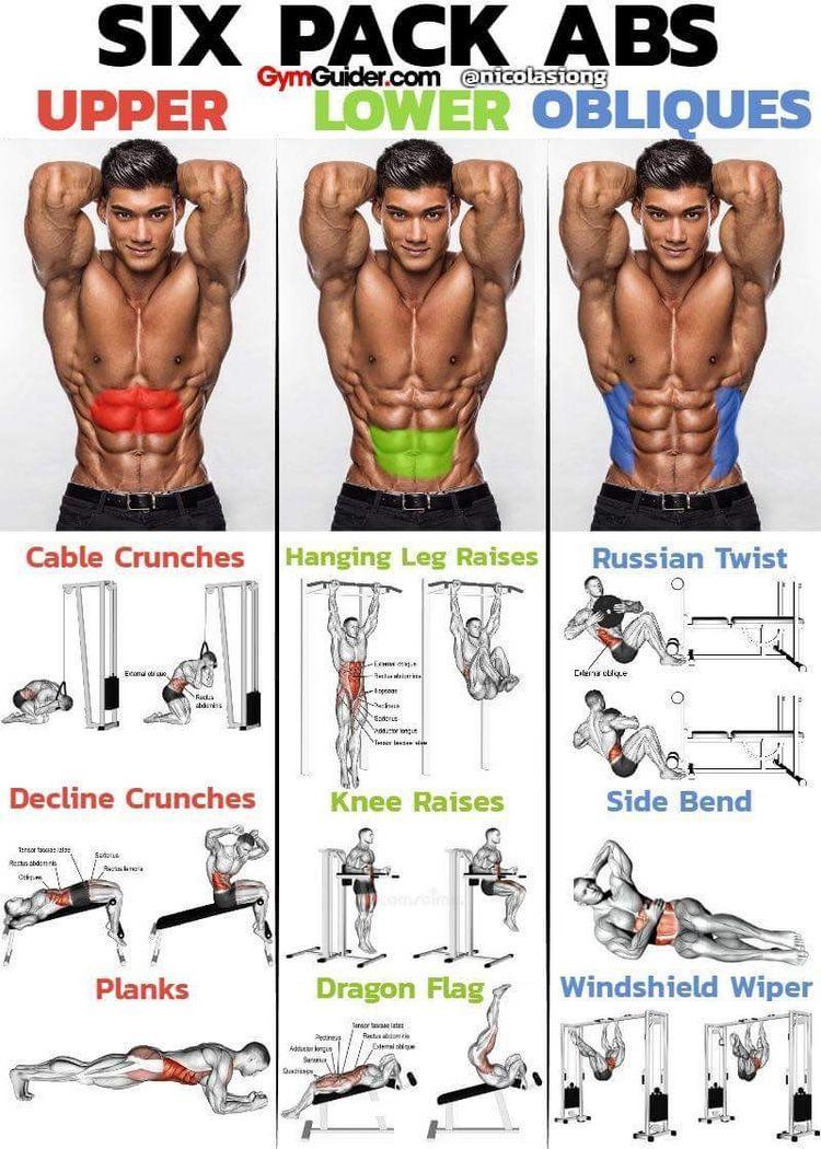 Ab Exercises Abs Workout Workout Routine Workout Programs